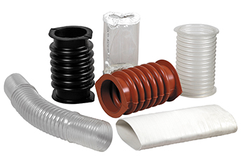 SWECO offers flexible rubber connectors to suit a wide variety of applications and services.