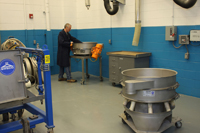 SWECO Tech Center employs low profile separators when testing customer material